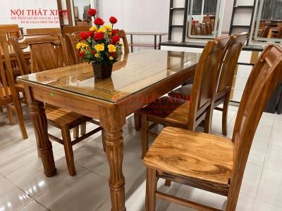 Bộ bàn ăn gỗ 1