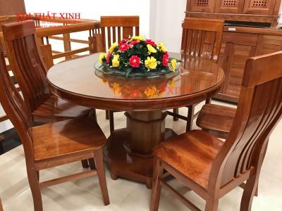 Bộ bàn ăn gỗ 2