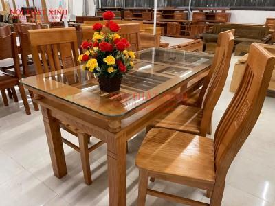 Bộ bàn ăn gỗ 3