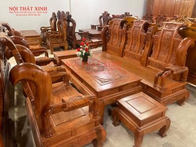 Bàn ghế gỗ phòng khách 9