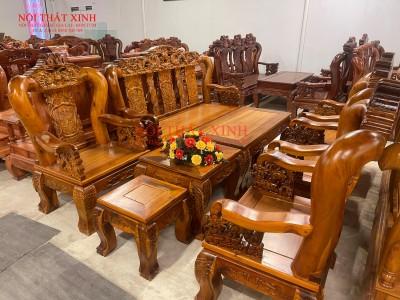 Bàn ghế gỗ phòng khách 11