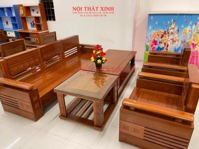 Bàn ghế gỗ phòng khách 12