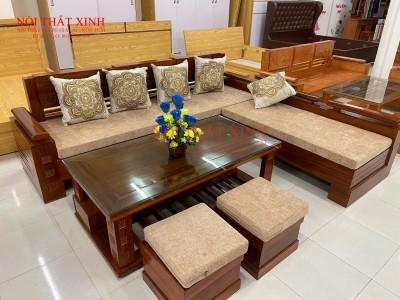 Bàn ghế gỗ phòng khách 13
