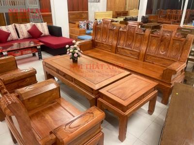 Bàn ghế gỗ phòng khách 14