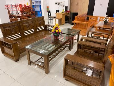 Bàn ghế gỗ phòng khách 15