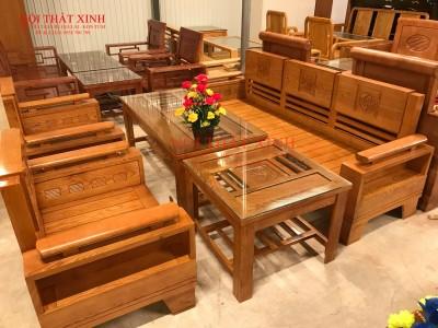 Bàn ghế gỗ phòng khách 4
