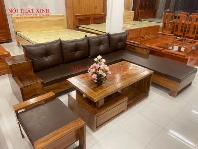 Bàn ghế gỗ phòng khách 8