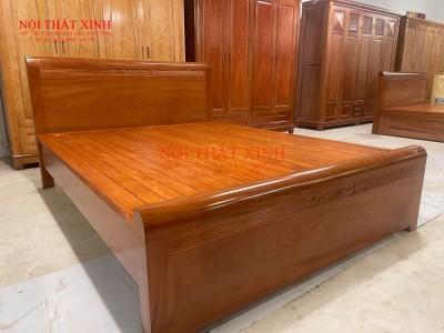 Giường gỗ cao cấp 1