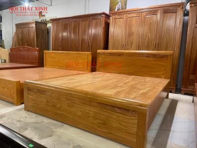 Giường gỗ cao cấp 3